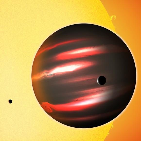 Невероятно темный гигант TrES-2b