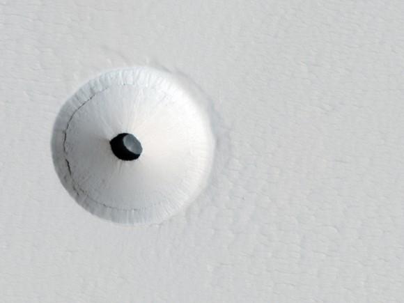 На Марсе нашли пещеру