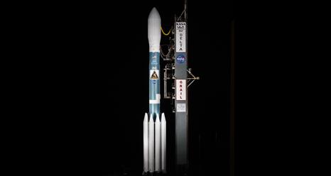 Ракета с зондами GRAIL на мысе Канаверал