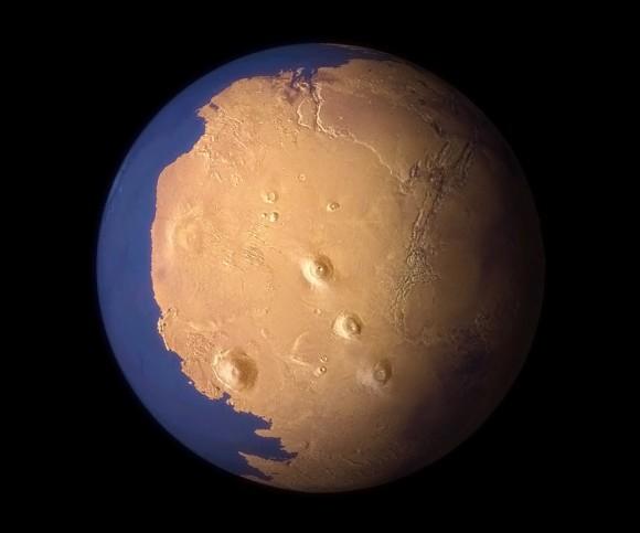 Марс имел более плотную атмосферу в прошлом