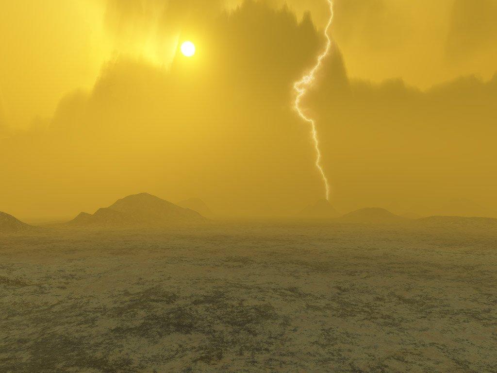Высокие слои атмосферы Венеры непостоянны
