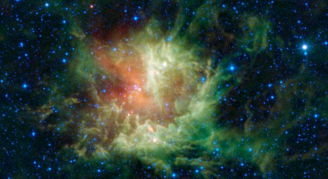 Астрономы нашли зубы у NGC 281