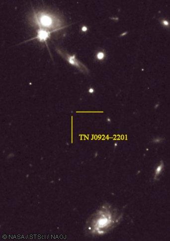 Ранняя Вселенная содержала элементы для жизни