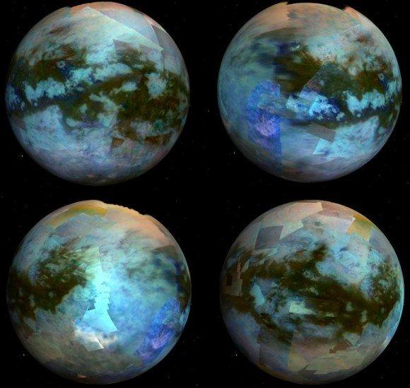 Яркий ландшафт Титана представлен астрономам