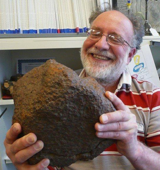 Редкий палласит найден в Миссури