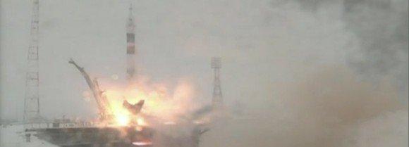 Российский корабль «Союз» отправился к МКС