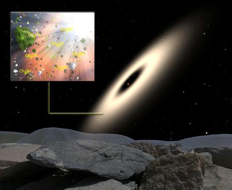 «Благоприятные места» для формирования сложных органических молекул обнаружены в нашей галактике