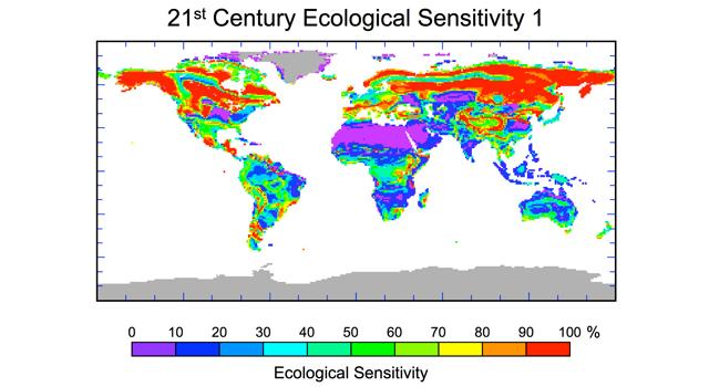 Изменение климата может привести к серьезным изменениям экосистемы