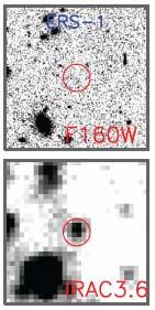 Два изображения нового класса галактик: таинственные красные галактики