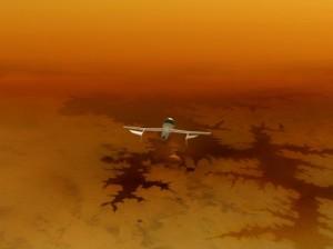 Беспилотный самолет в атмосфере Титана