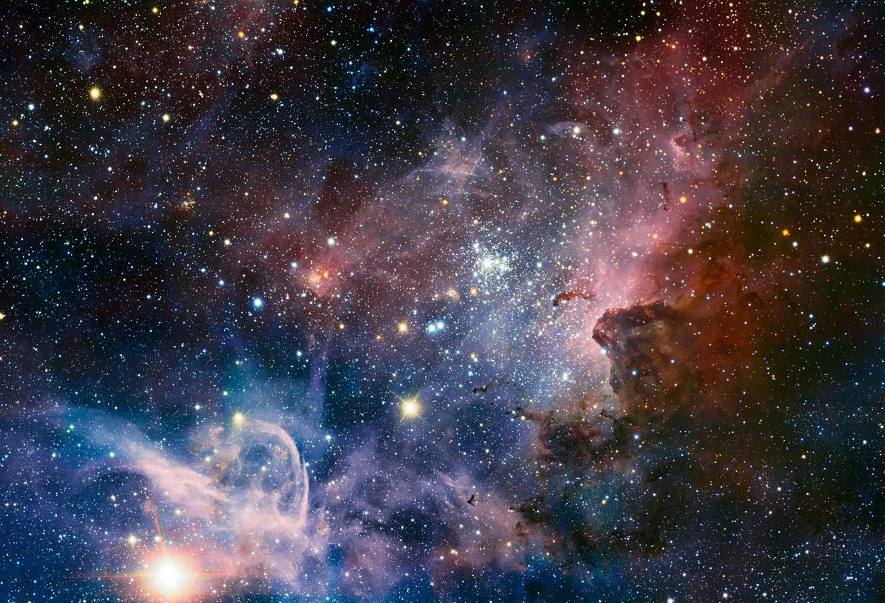 Потрясающая фотография туманности Киля