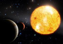 Открыта планетарная система ранней Вселенной