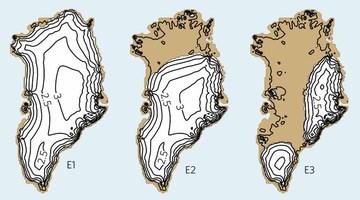 Гренландский ледяной щит может растаять при потеплении на 1,6 градуса