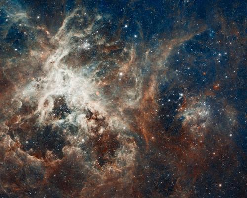 Самые крупные звездные ясли от телескопа Хаббл