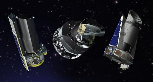 NASA продлевает миссии Кеплер, Планк и Шпитцер