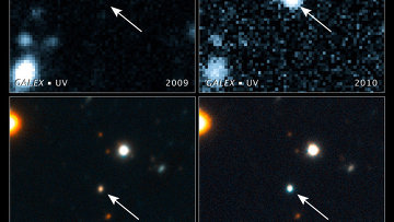 Черная дыра съела звезду