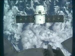 Первый коммерческий космический корабль Dragon