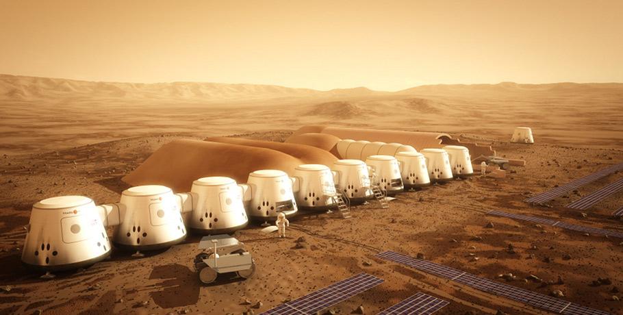 Обитаемая база на Марсе к 2023 году