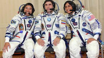 Союз ТМА-05М успешно выведен на орбиту