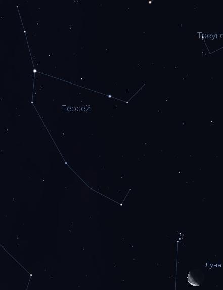 Ежегодный метеорный дождь из созвездия Персея (11 августа 2012 года)