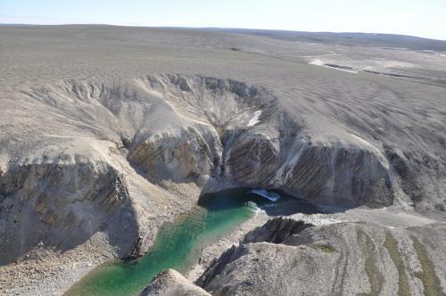 Ученые открыли новый кратер в Арктике