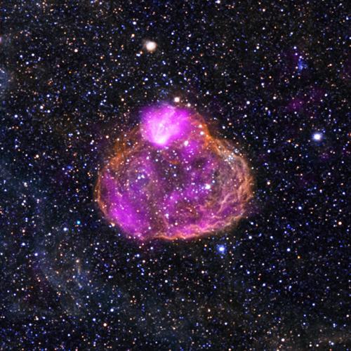 Суперпузырь из Большого Магелланова Облака