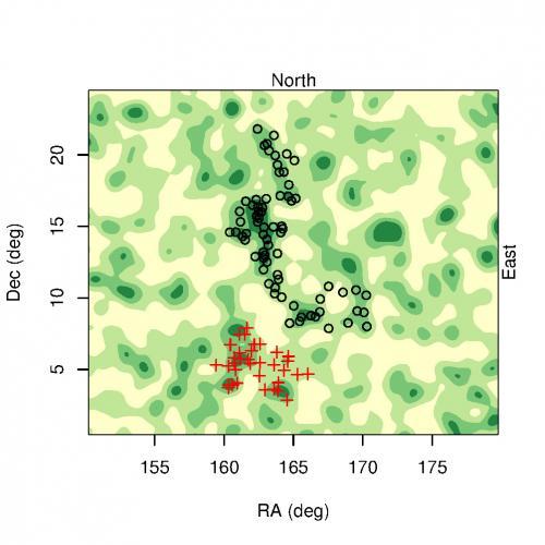 Открытая группа квазаров ставит под сомнение Космологический Принцип