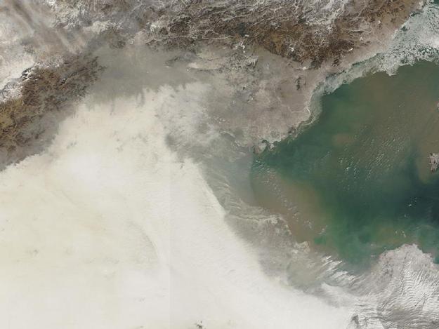 Китай: худшее качество воздуха за всю историю страны