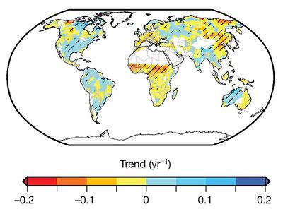 Новая модель опровергает связь глобального потепления с недавними засухами