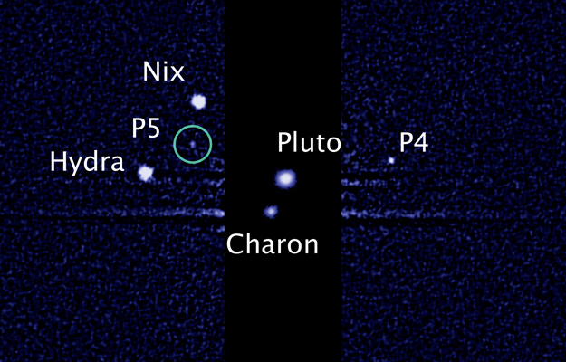 Началось голосование за имена двух спутников Плутона