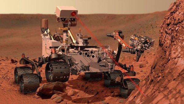 У марсохода Curiosity возникли серьезные неполадки