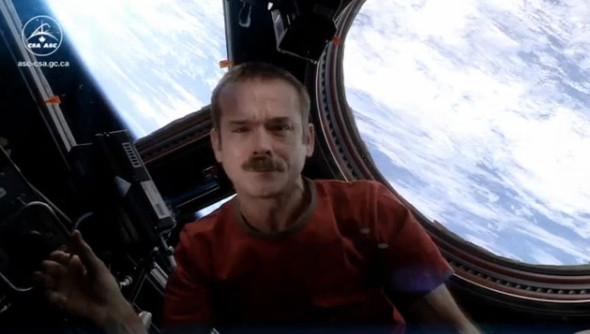 Канадский астронавт Крис Хадфилд