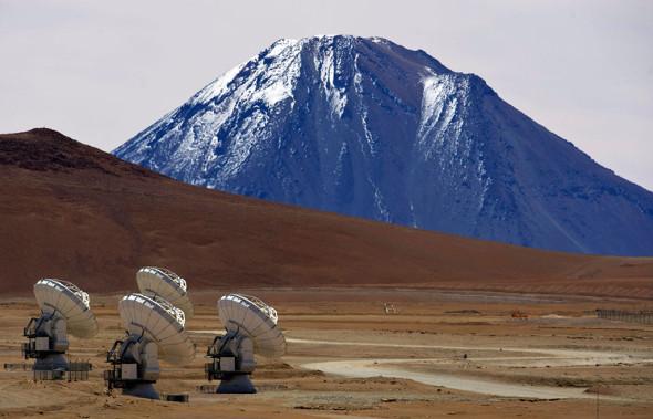 Открыта самая большая в мире обсерватория ALMA