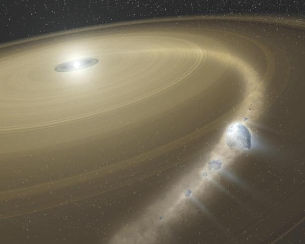 Кометы с самым длинным орбитальным периодом