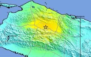 В Индонезии произошло землетрясение магнитудой 7,1 баллов