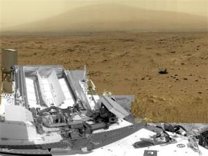 Марсоход Curiosity отправился к горам