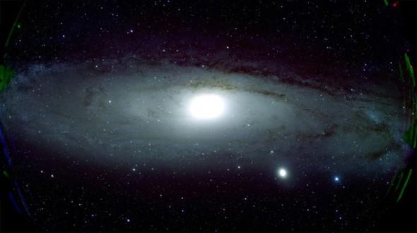 Первый в мире снимок Туманности Андромеды в сверхвысоком разрешении