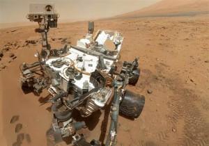 Марсоход Кьюриосити нашел воду на Марсе