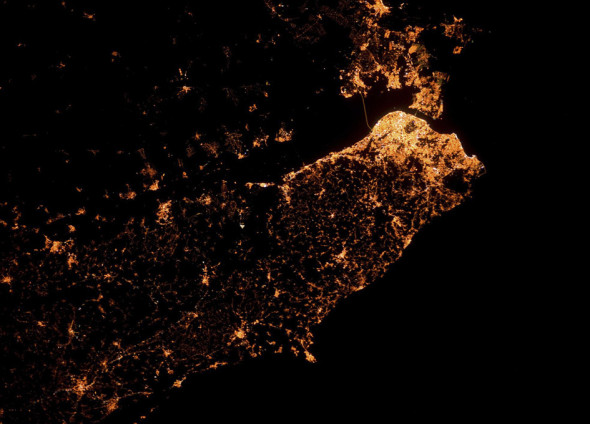 Лиссабон ночью