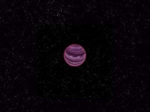 Одинокая планета без звезды