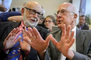 Питер Хиггс (Peter Higgs) и Франсуа Энглер (Francois Englert)