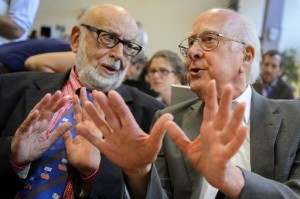 Нобелевская премия по физике присуждена за открытие бозона Хиггса