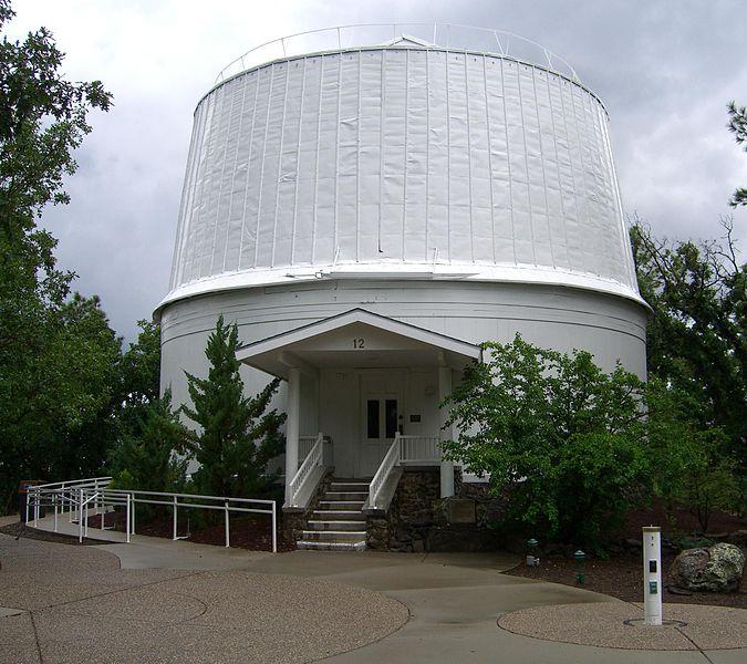 Телескоп обсерватории Лоуэлла ожидает реконструкции