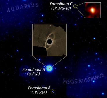 Фомальгаут С имеет кометный пояс