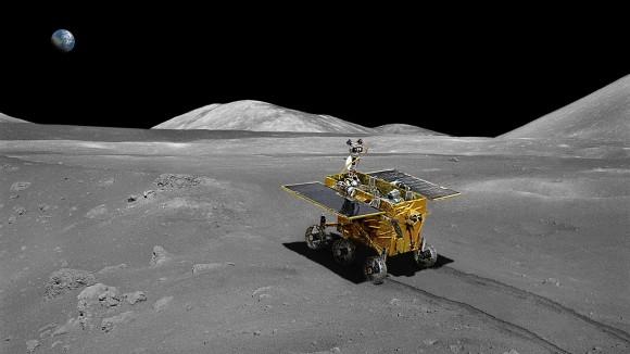 Китайский луноход отправился к спутнику Земли
