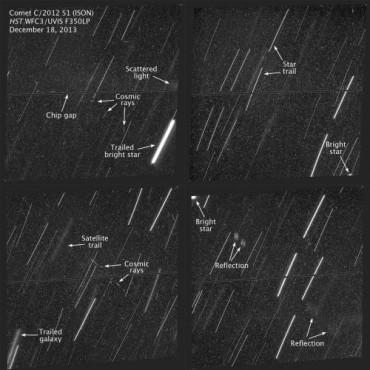 Хаббл не смог найти следов кометы ISON