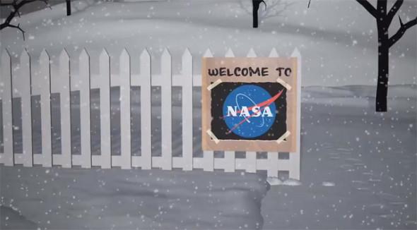 Снеговики от НАСА