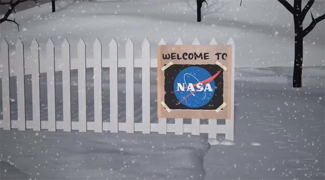 НАСА представило снеговиков для Нового года