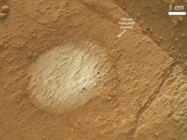 Озеро на Марсе обнаружено в кратере Гейла