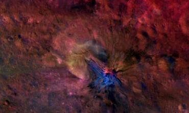 Астероид Веста предстал во всей красе